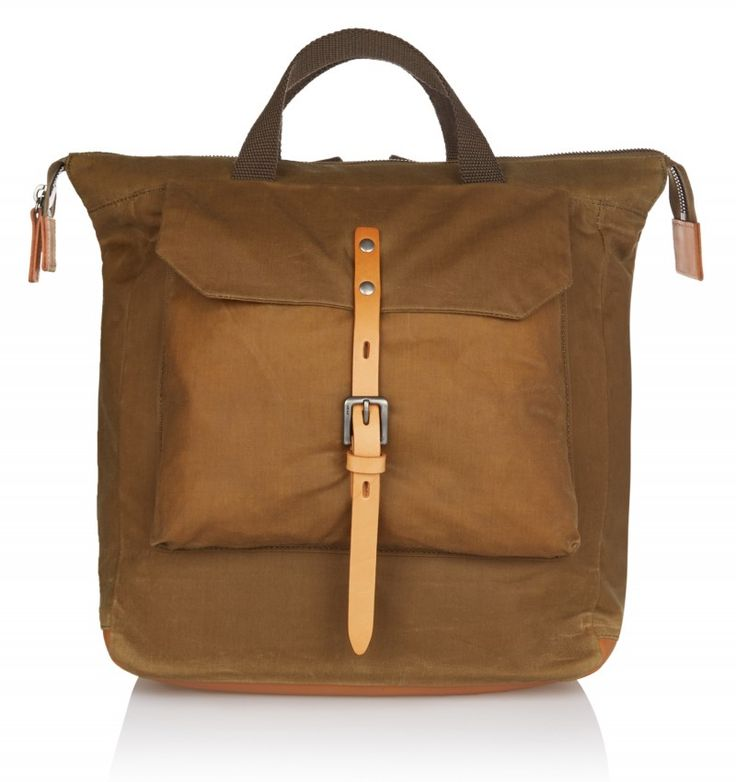 Ally Capellino FRANCES WAXED COTTON RUCKSACK