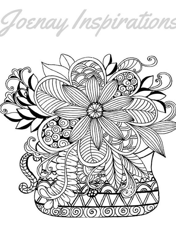 17 Best images about Uncolored Printable Pages on ...
