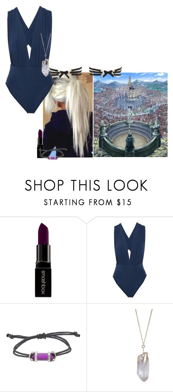"""""""Full Body Swimsuit Round - GMG"""" by stylesgal ❤ liked on Polyvore featuring Smashbox, ViX, Humble Chic and Bordelle"""