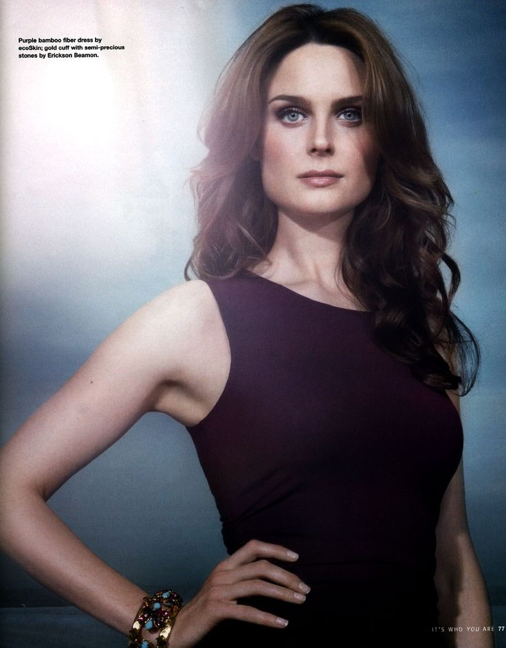 Emily Deschanel Hot Photoshoot For Statement Magazine 2008