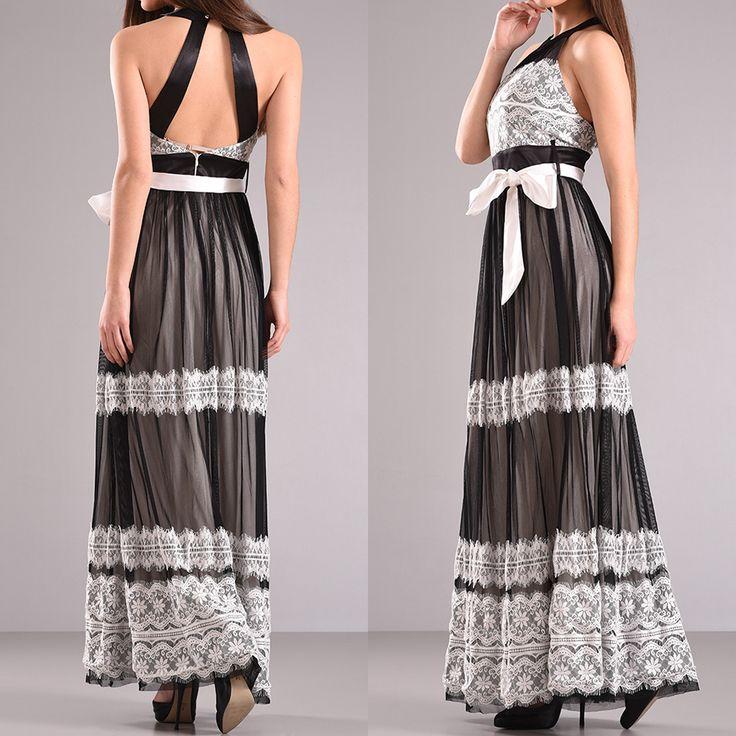 #Maxi_φόρεμα_με_χιαστή_πλάτη_και_δαντέλα. Διαθέσιμο στο κατάστημα Primadonna στην Πάτρα.@primadonnapatr1