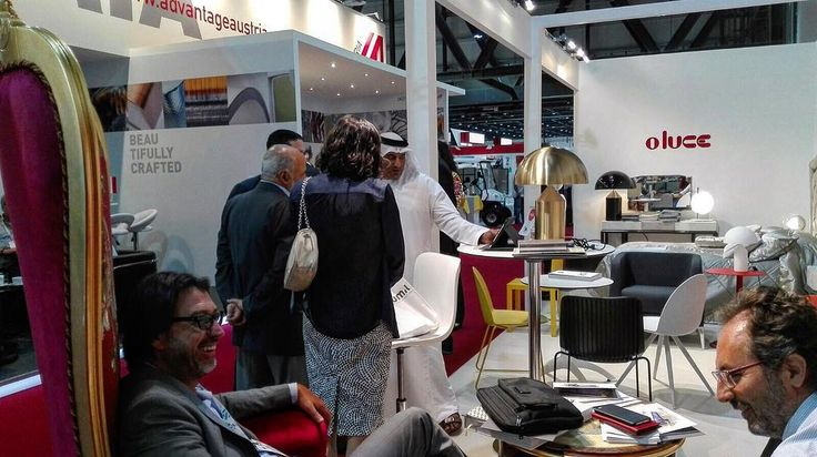 How could our stand at The Hotel Show in Dubai not catch your eye? 👀  #Segis #SegisDesign #ItalianDesign #TheHotelShow #Emirates #hospitality #uae #interiors #interiordesign #tradeshow