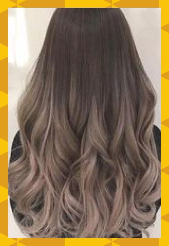 2020-2021 Frisur Ich mag diese Trend √68 Frisuren mit dunkelbraunem Haar mit Highlights # ...