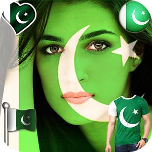 If you are enthusiastic with your home land and wish to celebrate the 14-August happy independence day of Pakistan then we can make it easy for you by means of Pak flag face independence day flag paint editor application, this pak flag face app is an abundant and a great tool Pakistan flag photo frame app and on can apply several stylish Pakistan flag on face by means of this Pak flag face independence day flag paint editor.