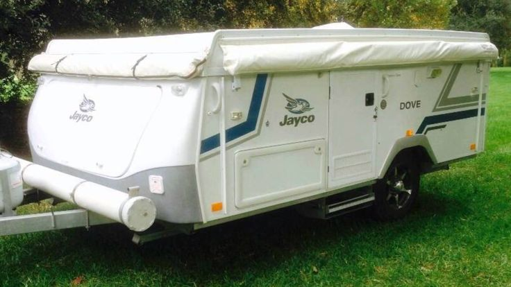 Caravan Hire Aus - 2010 Jayco Dove Poptop 6 berth. Hired out from $100 p...