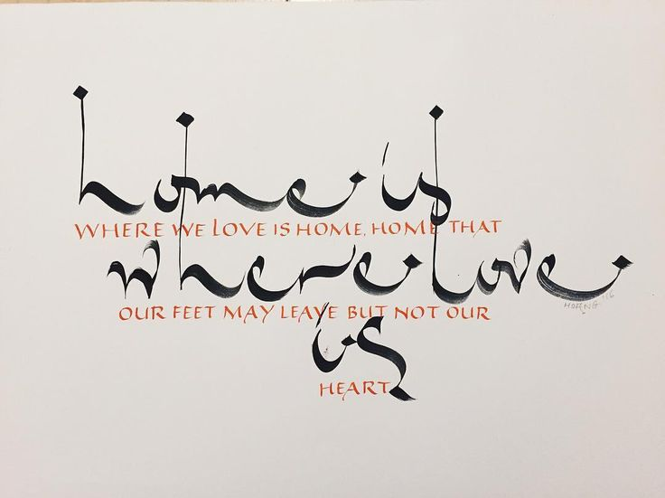 290 Best Images About Calligraphy Lettering On Pinterest