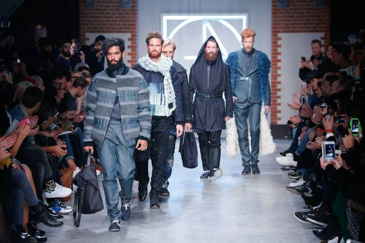Global Denim Awards winner Jonathon Christopher's collection in collaboration with ITV Denim at Kingpins Amsterdam trade show.