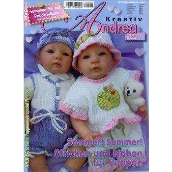 Zeitschrift für Puppen-Mode: ANDREA KREATIV SPEZIAL PUPPEN 560/2013