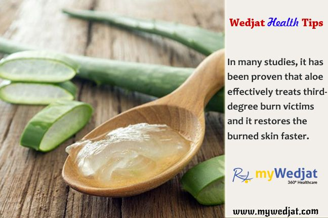 #Aloe effectively treats third-degree burn victims and restores burned skin faster.. #WedjatHealthTips #SkinCare #NaturalHealing #Acne #Rashes #BurnedSkin #Wellness #WoundHealing #Scars