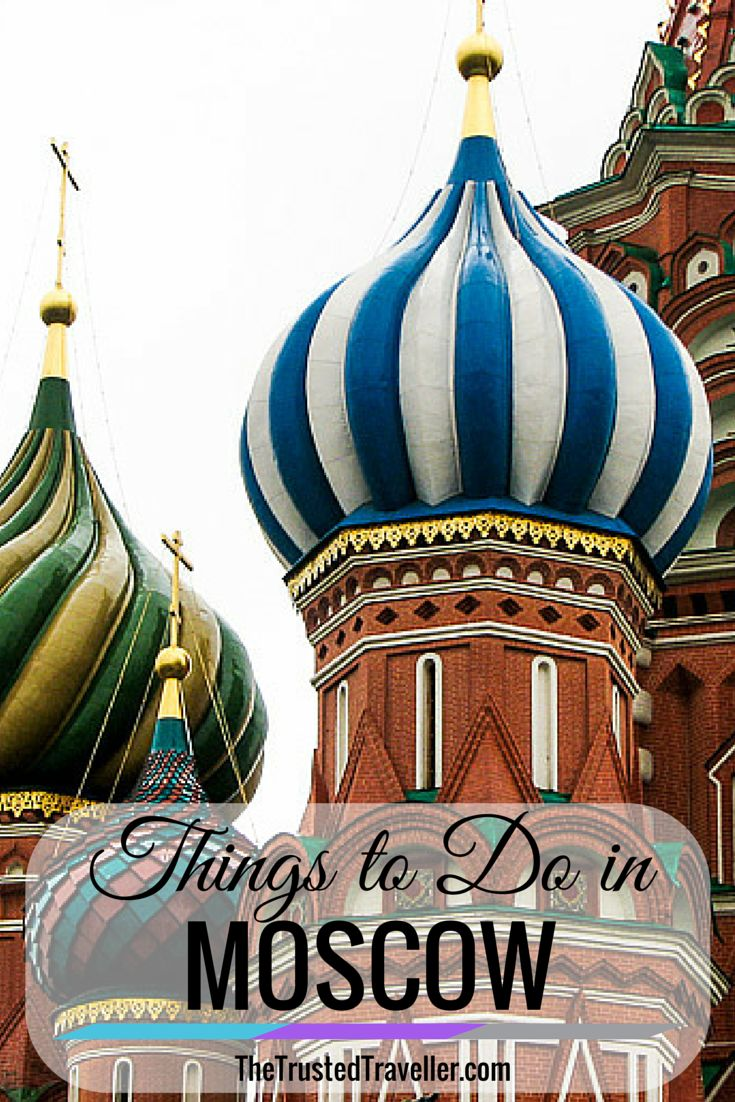 Colouful onion domes of Saint Basil's Cathedral - Things to Do in Moscow - The Trusted Traveller