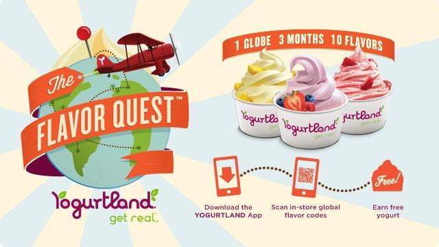 Yogurtland - one of my favorite frozen yogurt places and I'm ...