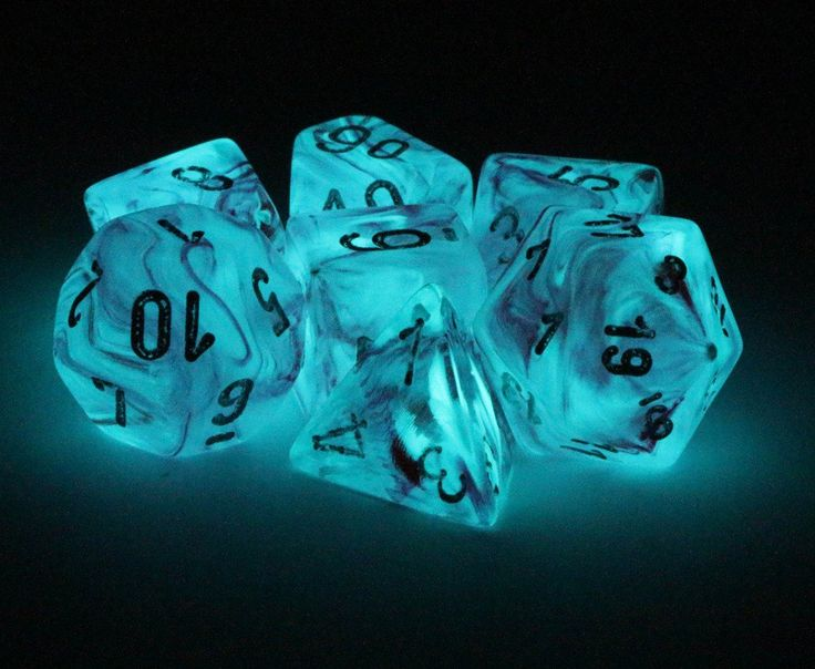Role play your greatest adventures with Ghostly Glow Dice (Pink). This RPG dice set is perfect for Dungeons and Dragons, Pathfinder, and all games that require polyhedral dice. Includes all your favor