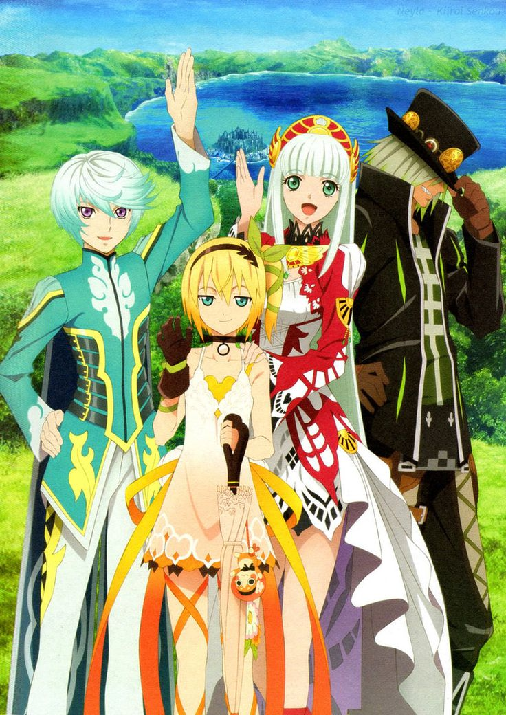 Tales of Zestiria Manga garçon, Anime, Animé