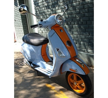 Vespa LX150 Custom Color