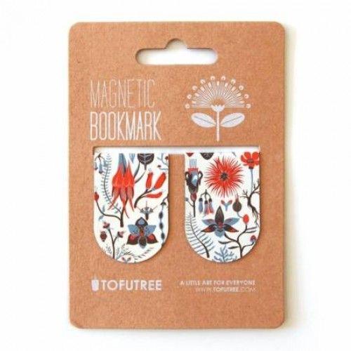Magnetic Bookmark set - Botanica by Tofu Tree