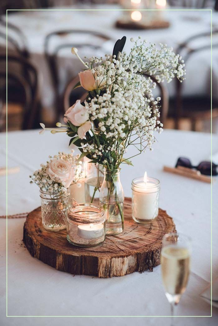 Diy Wedding 19674 Decoration De Table Mariage Centre De Table Mariage Decoration Salle D In 2020 Vintage Wedding Table Rustic Wedding Table Vintage Wedding Decorations