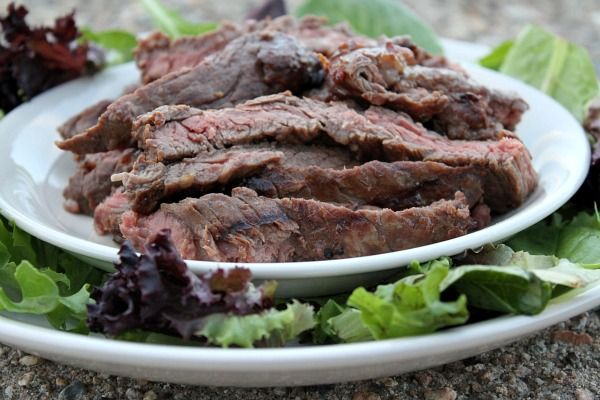 Best Marinade for Grilling Skirt Steak - RecipeGirl.com