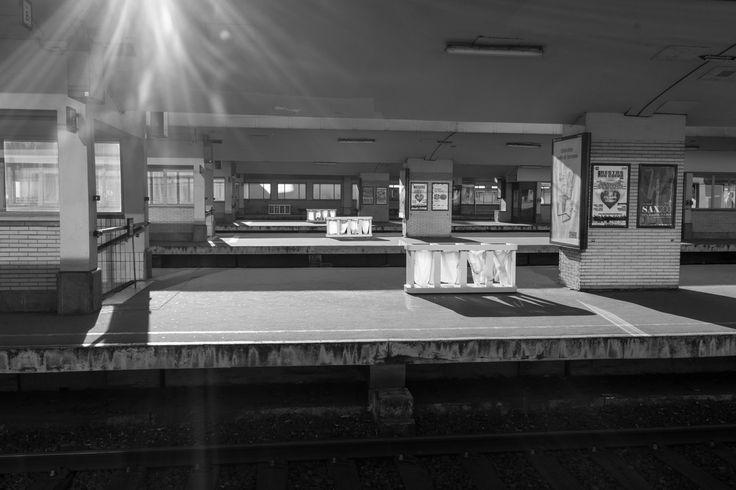 John Vink - Brussels. 2014. Gare du Nord.