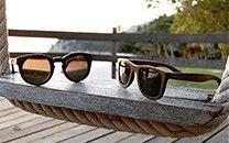 Χειροποίητα από φυσικό bamboo, ξύλινα γυαλιά ηλίου