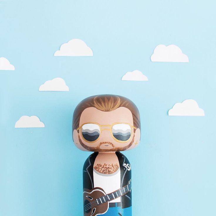 George Michael Kokeshi Doll - Sketchinc