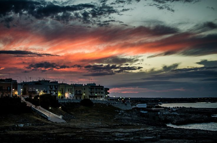 Sunset in Polignano a mare... by Controluce Fotografi on 500px