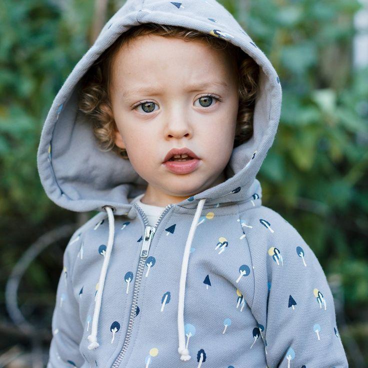 Organic Sweatshirt Hoodie | Or-Chard Print