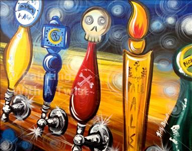 17 best images about painting with a twist on pinterest for Wine and paint indianapolis