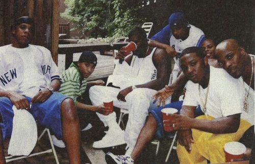 Jay-Z with Junior M.A.F.I.A., Lil Cease, Ty Ty, and DMX