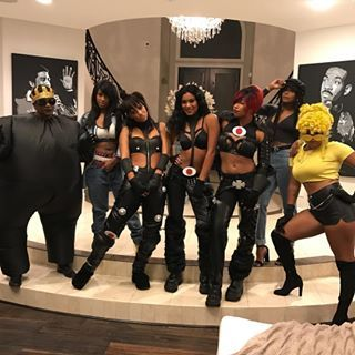 Missy Elliot, Aaliyah, TLC, Janet Jackson, and Lil' Kim. | 19 Times Black People Absolutely Owned Halloween