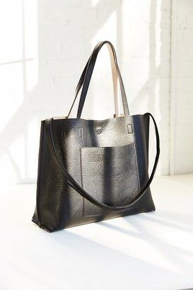 Urban Outfitters Reversible Vegan Leather Tote Bag on ShopStyle