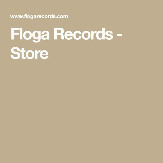 Floga Records - Store
