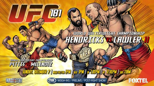 COUNTDOWN TO UFC 181: ANTHONY PETTIS VS. GILBERT MELENDEZ - See more at: http://www.addisonsportsmedia.com/2014/12/countdown-to-ufc-181-anthony-pettis-vs-gilbert-melendez/#sthash.j9IVJfDC.dpuf
