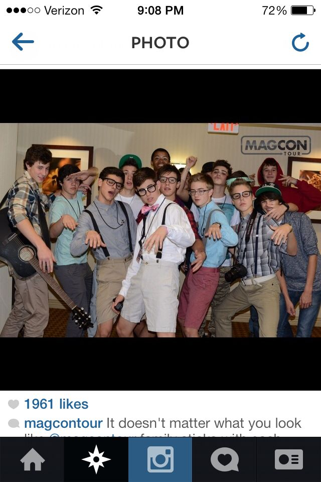 Magcon tour <3. All my favorite viners.