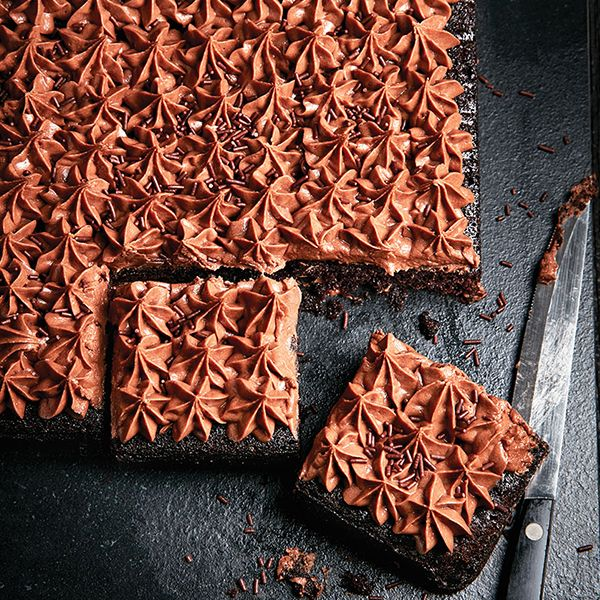 This easy chocolate cake is hall-of-fame-worthy and sure to be added to your go-to dessert recipe collection. Find it, and more, at Chatelaine.com.