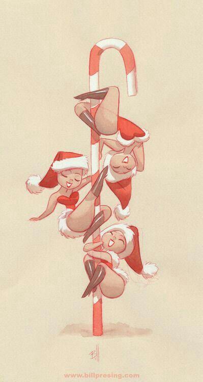 pole dance christmas!                                                                                                                                                                                 More