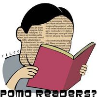 Blog image for article about postmodern books and readers