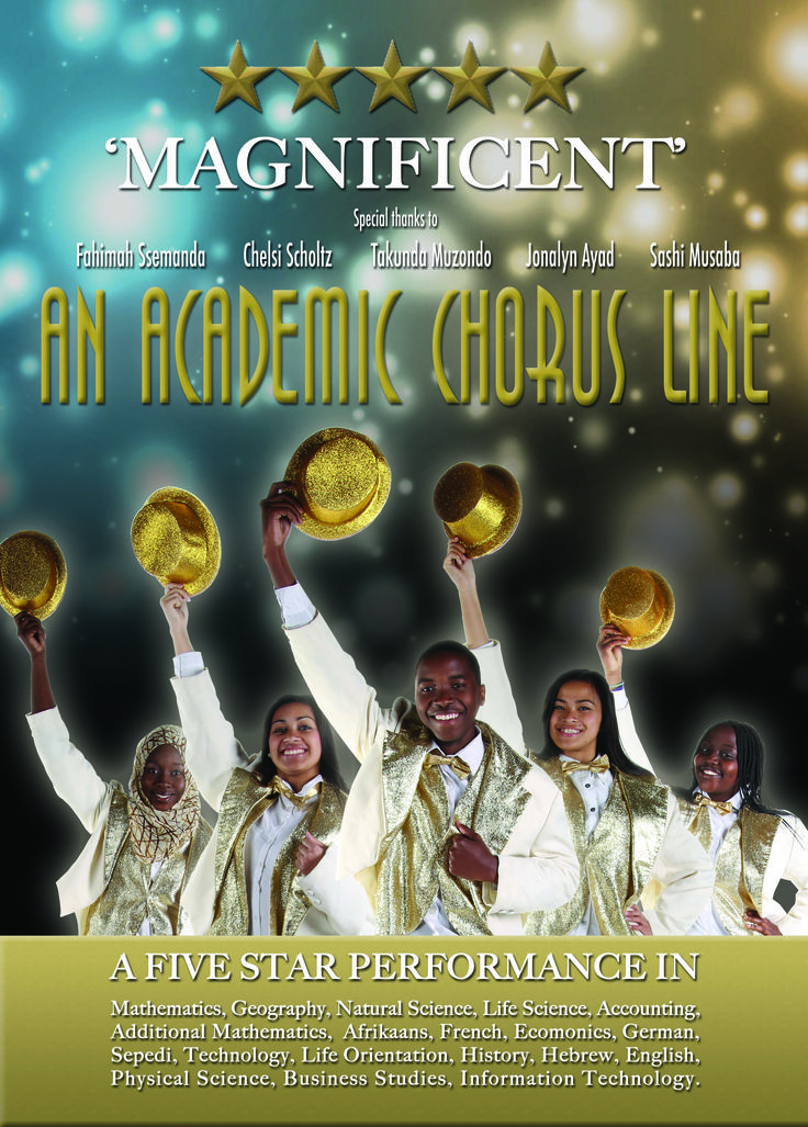 Academics Leader Poster: Broadway Theme