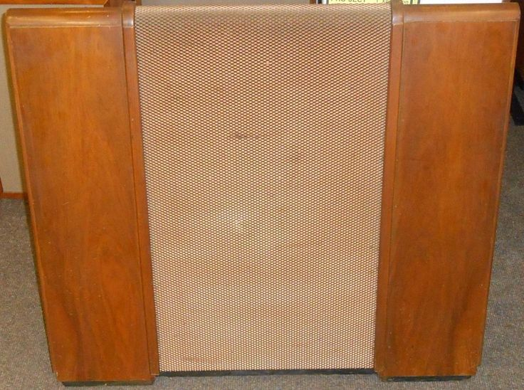 Vintage 1950's Wharfedale SFB/3 (Sand Filled Baffle) Loudspeaker Enclosure in Sound & Vision, TV & Home Audio Parts, Speaker Parts & Components | eBay