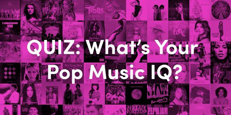 QUIZ: What's Your Pop Music IQ? - Cosmopolitan.com