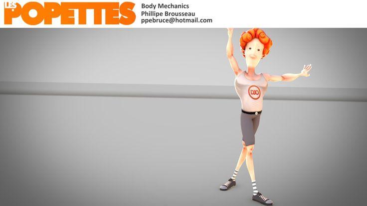 LES POPETTES -  SUMMER 2014  - Philippe Brousseau - Body Mechanics | Squeeze Studio Animation.