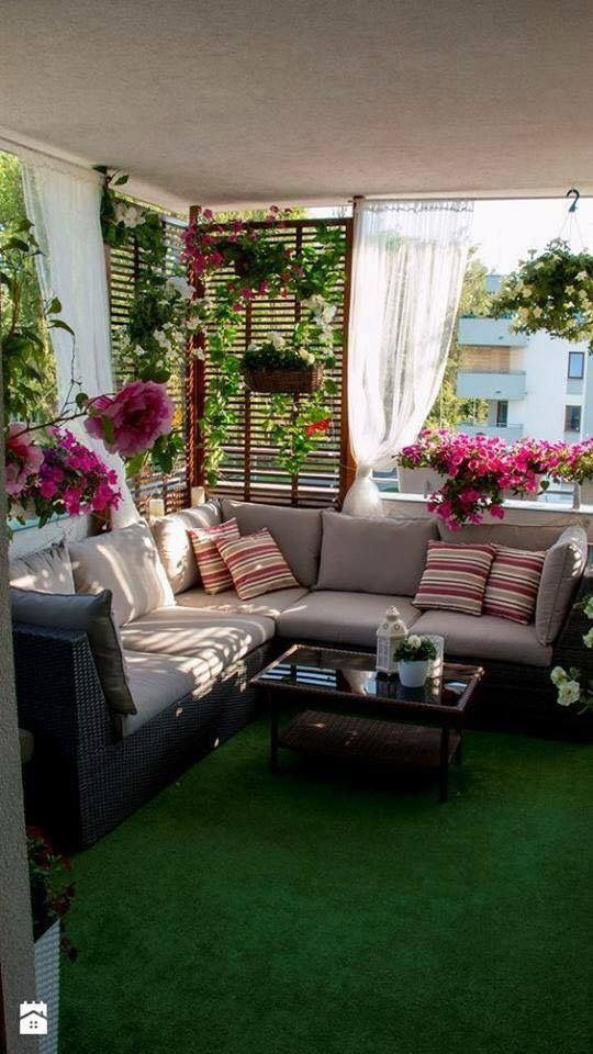 Front Porch idea for flowers - would get sun and rain!