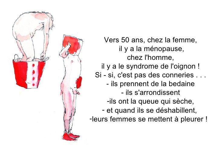 ménopause chez la femme