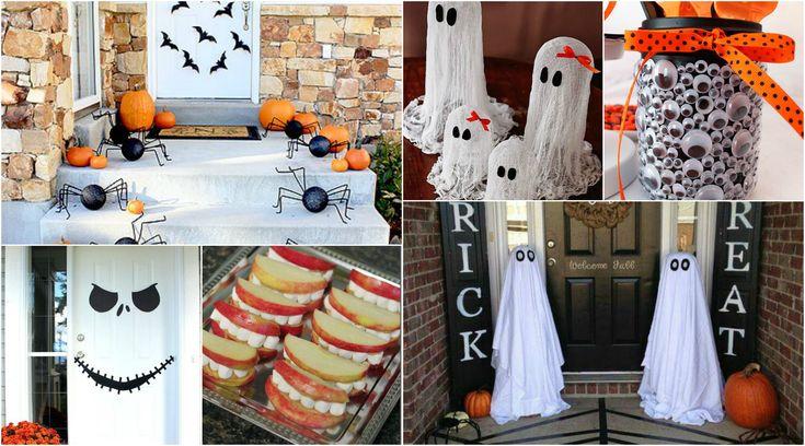 10DIY Decoração de Festa Halloween…