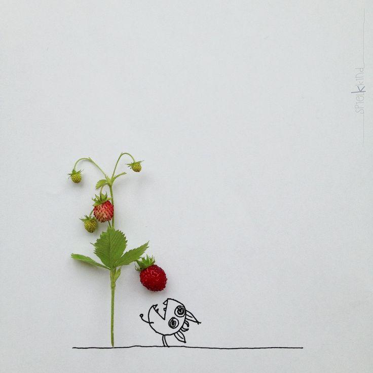 And_Draw_Something #Art #Illustration #Instagram #Kerstin_Hiesterman n#Khiesti #Khiesti_Littlemonster #Minimal #Mobile_Photography #Spielkkind