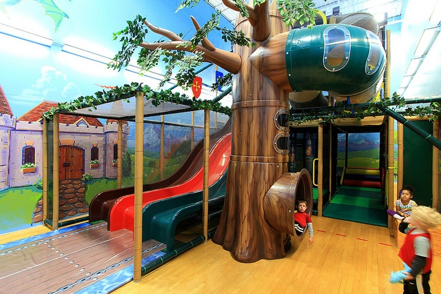 Our New Kids Indoor Play Area   Come get lost in the hidden forest  Join Us: http://www.ymcatwincities.org/locations/southdale_ymca/