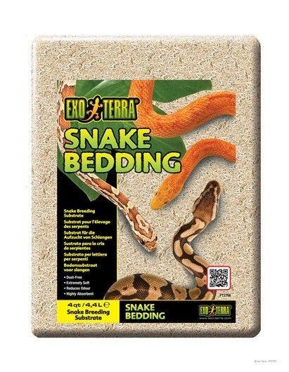 Sustrato Snake Bedding EXOTERRA El Exo Terra Sustrato para cría de serpientes es un sustrato biodegradable para reptiles, ideal para criadores y  mantenedores profesionales.