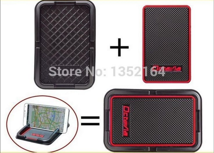 [Visit to Buy] Auto anti-slip phone mat non slip GPS holder pad for Skoda octavia, free shipping #Advertisement
