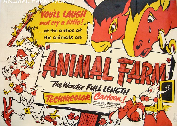 animal farm movie vs the book Similarities between animal farm book and movie animal farm is an allegorical novel by george orwell it was first published in england 1945 august 17.