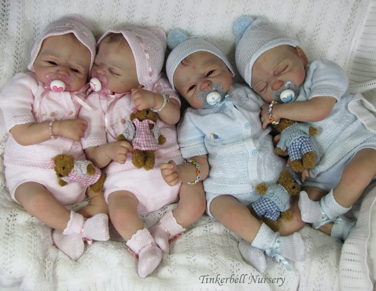 Reborn Dolls by the UberTalented Hellen Jalland at Tinkerbell Nursery in the UK