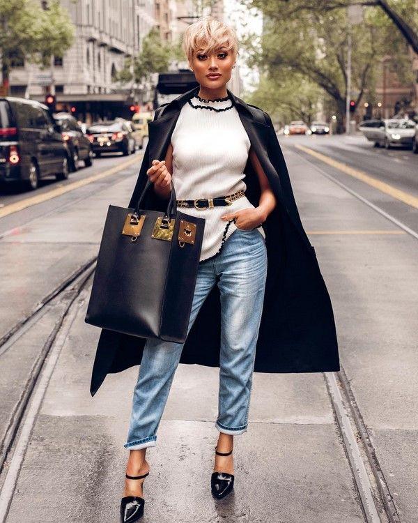 20ab0b3667ac Модные джинсы 2018-2019: фото, новинки, тенденции и модели джинсов ...